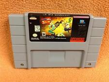 Earthworm Jim 2 *Authentic* Nintendo SNES Game *Cart Only* Super Fast FREE SHIP!