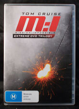 Mission : Impossible: Extreme DVD Trilogy - Tom Cruise - DVD - Region 4