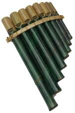 More details for peruvian panpipes featuring leaf pattern