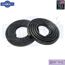 62-6 Mopar A B Body Door Weatherstrip Seals 2 Door Black LM23GBLK Metro USA MADE