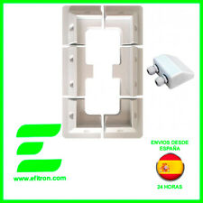 Kit 7 piezas de anclaje para Panel Solar. Soporte de Autocaravana