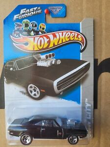 Hot Wheels 2013 - '70 DODGE CHARGER R/T [BLACK] FAST AND THE FURIOUS