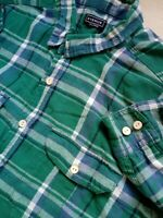 Mens Long Sleeve Check Fitted Shirt Size XXL Big/Tall Suit 48'' Chest