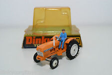 DINKY TOYS 308 LEYLAND 384 TRACTOR ORANGE MINT BOXED RARE SELTEN RARO