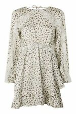BNWT Topshop Ivory Daisy Lace Skater Dress  14  £49