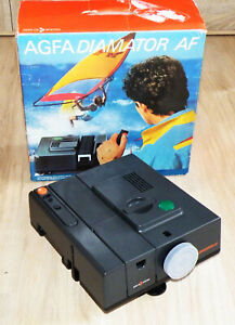 Diaprojektor AGFA Diamator AF Agomar 2,8/85mm. made in Germany, Reflecta TOP OVP