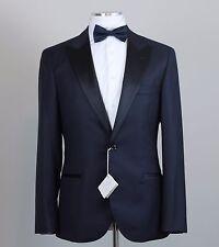 New Brunello Cucinelli Midnight Blue Peak Lapel Tuxedo Size 40 (50 EU) NWT