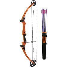 Genesis Archery 11419 Original Orange Compound Training Bow Kit, Right Handed