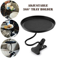 360° Adjustable Car Mount Holder Cup Coffee Beverage Table Stand Food Tray Disk