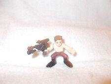 Star Wars Figure Galactic Heroes Han Solo Blaster 2-3 inch loose 2007