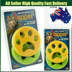 NEW FURZAPPER 2-PACK- Pet Hair Remover For Laundry Age Cloth Carpet Bed AU STOCK