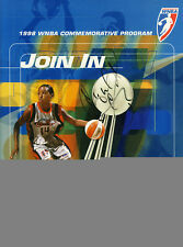 Cynthia Cooper Signed WNBA Program PSA/DNA Comets