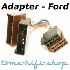 FORD Escort Ka Fiesta Focus Radioadapter ISO Radio Adapter Stecker Autoradio