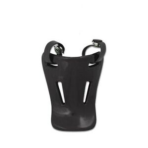 "Champro 4.5"" JUNIOR Catcher's Throat Neck Guard, Fits Most Face Masks, BLACK"