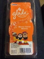 New Glade MERRY CITRUS MELODY 6ct Wax Melts Holiday 2014