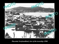 OLD LARGE HISTORIC PHOTO OF PLACENTIA NOVA SCOTIA, VIEW OF THE TOWN c1900 3
