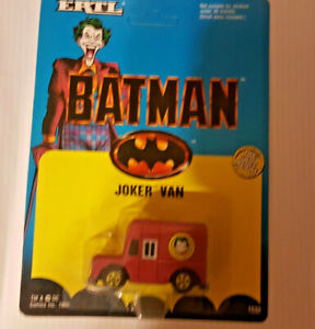 RARE VINTAGE BATMAN THE MOVIE JOKERS 'VAN DIE-CAST MODEL BY ERTL  YEAR 198