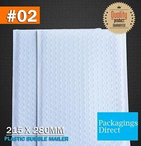 Poly Bubble Mailer G2 215 X 280MM Premium 02 Padded Bag Envelope