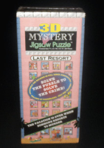 Buffalo Games 3D Mystery Jigsaw Puzzle Last Resort New Sealed