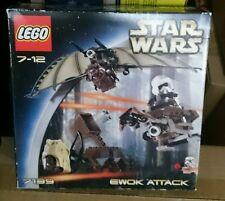 LEGO STAR WARS 7139 EWOK ATTACK ANNO 2002 GUERRE STELLARI NUOVO MISB NEW RARO
