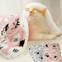 Pet Dog Cat Bed Puppy Cushion House Soft Warm Kennel Mat Blanket Washable S M XL