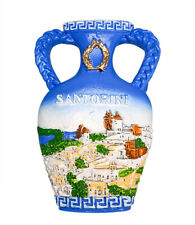 3D Resin Fridge Magnet Tourist Travel Souvenir Memorabilia - Santorini, Greece
