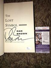 Dan Brown Signed Lost Symbol Rare Author Jsa Coa