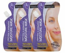 6 x  Beauty Formulas Hydrating Moisture Mask 6x50ml All Skin Types