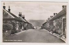 Stirlingshire postcard - Luss Village, Loch Lomond - RP