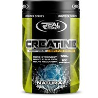Real Pharm Creatine Monohydrate Pulver 500g - 100 Portionen Kreatin