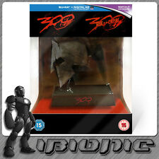 300 & Rise Of An Empire Spartan Helmet Limited Edition 3D Bluray NEW SEALED