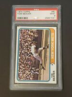 1974 Topps Tom Seaver #80 PSA 9 Gorgeous Low Pop New York Mets
