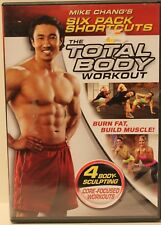The Total Body Workout Mike Chang's six pack shortcuts DVD workout exercise abs