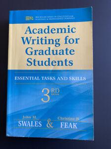 John M. Swales & Christine B. Feak - Academic Writing For Graduate Students