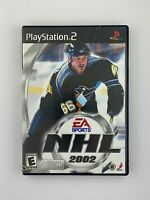 NHL 2002 - Playstation 2 PS2 Game - Complete & Tested