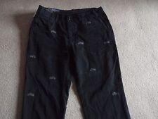 "Nuevo Ralph Lauren Blue Greenwich Moto 100% Algodón Pantalones Pantalones 36"" £ 125"