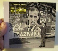 CHARLES AZNAVOUR ♦ Edition Limitée ♦ CONCERT HISTORIQUE (1963) A CARNEGIE HALL