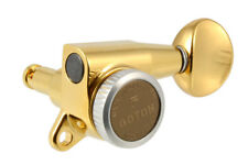 NEW Gotoh 3x3 LOCKING TUNERS for Guitar 16:1 Gear Ratio Gold TK-0938-002
