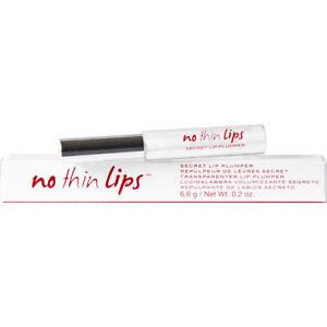 NIB Know Cosmetics No Thin Lips Secret Lip Plumper 0.2 oz/ 6.6 ml