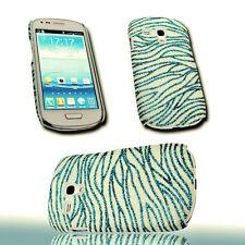 Design No.4 Glitter Handy Back Cover Case Hülle für Samsung i8190 Galaxy S3 Mini