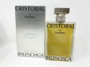 Sealed Balenciaga Cristobal Pour Homme 3.33 oz / 100 ml EDT for Men