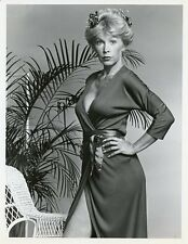 STELLA STEVENS BUSTY PORTRAIT FLAMINGO ROAD ORIGINAL 1981 NBC TV PHOTO