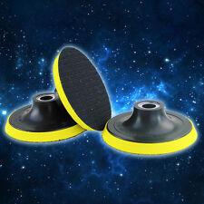"""100mm 4"""" Self-adhesive Angle Grinder Sanding Polishing Disc Wheel Backing Pad SN"""