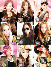 SNSD Girls' Generation I Got A Boy Official Orginal Post Card FULL 9 members Set