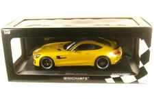 MERCEDES AMG Gt-r 2017 Yellow MINICHAMPS 155036021