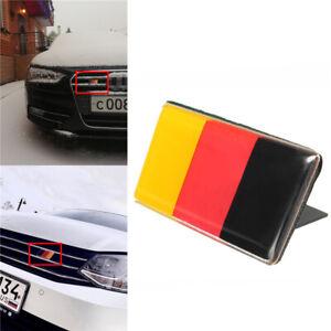 Front Car Grille Bumper German Flag Emblem Badge Sticker For VW Golf/Jetta Audi