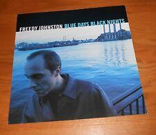 Freedy Johnston Blue Days Black Nights Poster 1999 Flat Square Promo 12x12