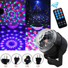RGB LED Laser Light Projector Party Club DJ Disco Auto Stage Crystal Ball Remote