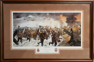 """James Dietz """"Overlord"""" Framed, Signed/Numbered w/COA!  Nice!"""