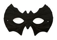 Fledermaus Maske Augenmaske in Schwarz Party Maskenball Fasching Karneval
